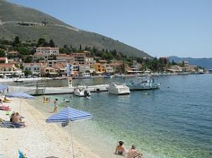 Kefalonija-plaža-Agia-Efimia