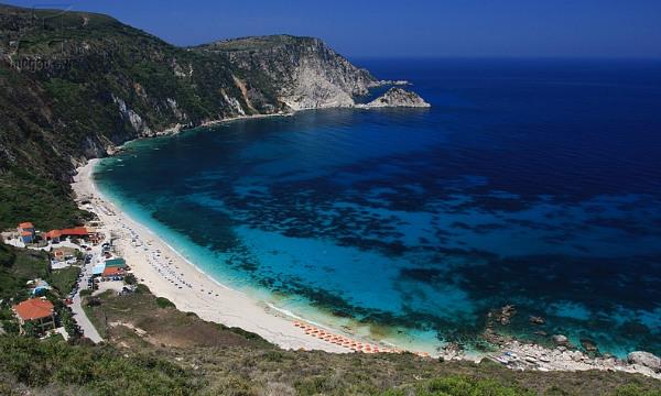 Kefalonija-plaža-Petani