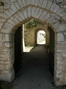 Unutrašnjost tvrđave Agia Mavra