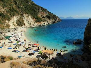 Jedna od najlepših plaža na Lefkadi