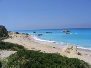 Južni kraj plaže koji između ostalog pohode nudisti