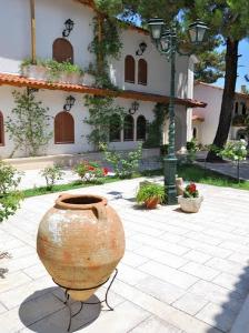 Unutrašnjost manastira