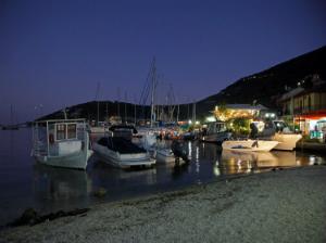 Plaža u večernjim satima