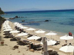 Hotelski deo plaže