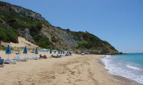 Kefalonija-plaža-Koroni