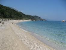 Kefalonija-plaža-Limenia