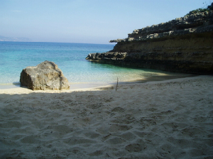 Kefalonija-plaža-Pesada
