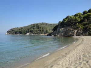 Izolovana plaža Ligaries (Aligaries)