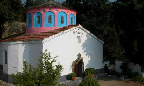 Skiatos-Manastir-Panagia-Kehria