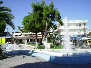 Fontana na trgu zaštitni je znak Haniotija