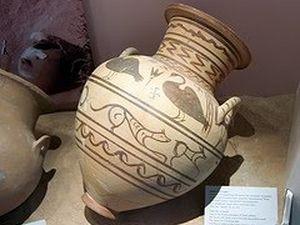 Vaza pronađena na lokalitetu antičkog grada Mendi