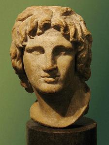 Bista mladog Aleksandra Makedonskog, Britanski muzej