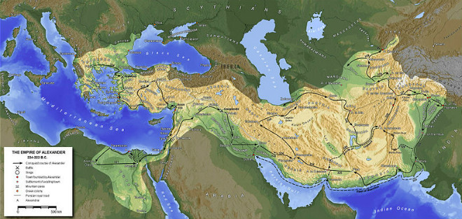 Carstvo Aleksandra Makedonskog