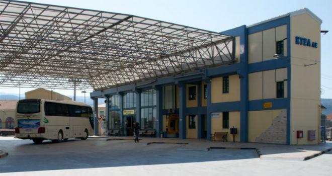 Autobuska stanica u glavnom gradu ostrva