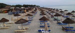 Plaža Egeopelagitika (Aigeopelagitika) na zapadnoj obali jedna je od najpoznatijih plaža Halkidikija