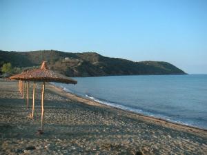 Plaža je šira od gradske u Potosu i manja je gužva.