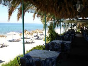 Na samoj plaži postoji taverna