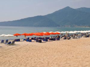 Golden Beach (Hrisi Amudia) je jedna od najlepših plaža na Tasosu