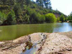 Jezero kod sela Maries je jedino na Tasosu