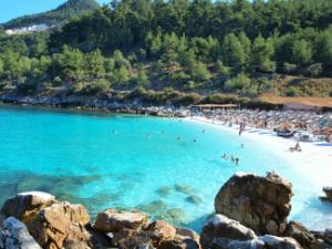 Mermerna je jedna od najlepših plaža na Tasosu