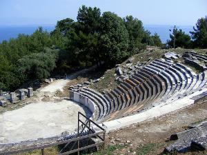 Pozorište datira još iz 5. veka p.n.e.