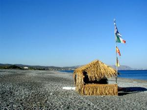 Plaža je dugačka nekoliko kilometara