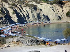 Jedna od tri plaže u Kolimbiji