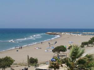 Plaža je odlična za ljubitelje kitesurfinga