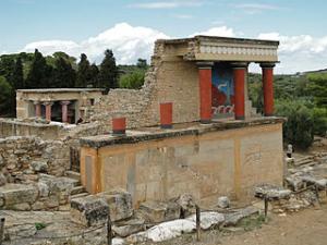 Palata Knosos na Kritu