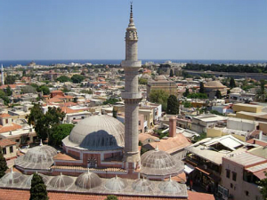 Džamija sultana Sulejmana Veličanstvenog u gradu Rodosu