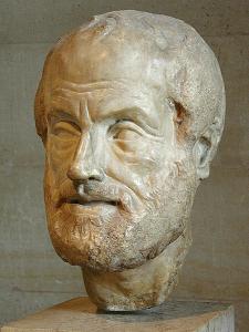 Aristotelova bista u Luvru