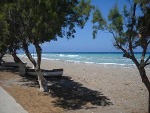 Plaža se nalazi nedaleko od naselja