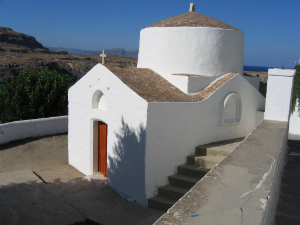 Jedna od mnogobrojnih crkava u naselju
