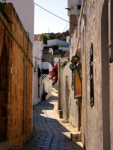 Selo je slično starim srednjevekovnim naseljima na Egeju