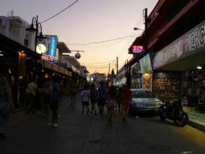 Faliraki je centar noćnog života na Rodosu