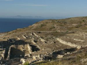 Ruševine antičkog grada Kamiros