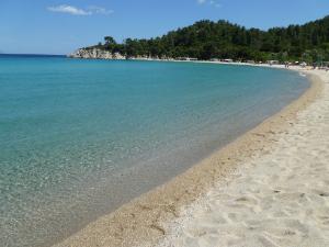 Plaža je peščana i odlična za mlađe naraštaje