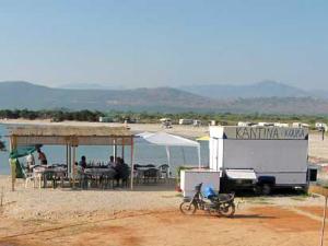 Plaža Kerentza leži u zalivu Odisea